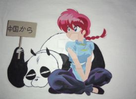 Ranma and Genma from Chine by MATTimagine