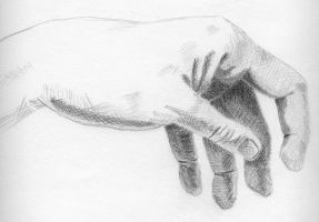 Hand Study 2 by LittleGabriel