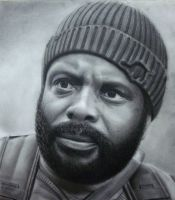 Tyreese - The Walking Dead by Polonx