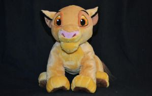 Disney store - The Lion King - Simba Plush - 2011 by fullmoonlupin