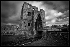 Baconsthorpe Castle by grimleyfiendish