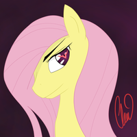 Just a Fluttershy by ClairClairSky