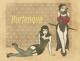 genderbend trek BURLESQUE by surrenderdammit