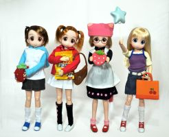 Strawberry Marshmallow dolls!!! by L63player