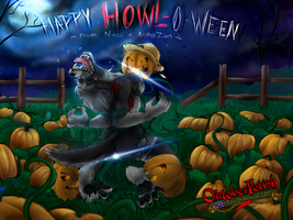 Happy HOWL-O-ween by NuciComs