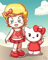 Hello Kitty by KrisCG