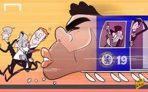 Chelsea runaway train led by rampant Costa by OmarMomani
