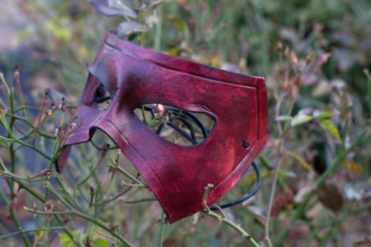 Leather Masquerade Mask by OsborneArts