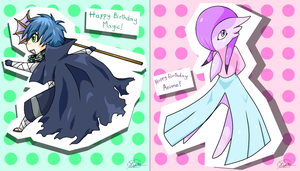 Double Birthday by Typhlo