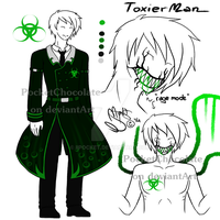 [SV OC] ToxierMan's ref - V.2 by PocketChocolate