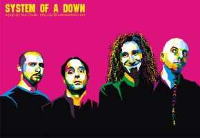 SYSTEM OF A DOWN IN WPAP by p32n