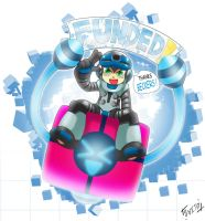 Mighty No.9 completely funded by Shoutaro-Saito