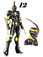 Guyver 12 Colored by darklight-ravager