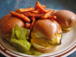 Burgers Pickles And Fries Oh My by Guy-Ricketts