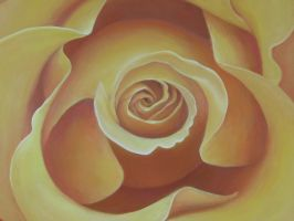Big Yellow Rose by Silas-Higgle