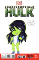 She-Hulk by CuddlyCapes