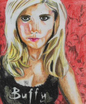 Buffy the Vampire Slayer by Rudstar