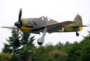 Focke Wulf Fw-190A-5 Landing by shelbs2