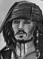 Jack Sparrow - Johnny Depp by AngelaM-96