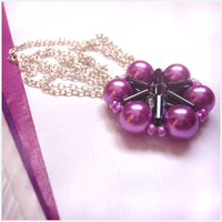 Haughtiness - Fuchsia Necklace by LadyFlynn