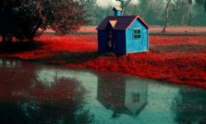 Loner's hut - Edited! by marshalbains