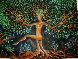 Dance of the Mother Tree by DorianBasil