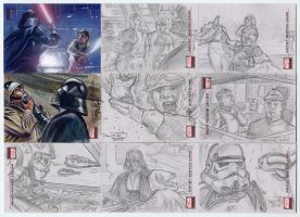 Star Wars Galaxy 4 Cards Set 5 by DavidRabbitte