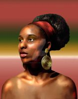 African Beauty V by WhiteCabaret