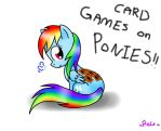 CARD GAMES ON PONIES!!!! by Spice5400