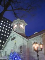 Sapporo Clock Tower by fayedilion