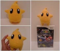 Crochet Mario Galaxy Luma by katrivsor