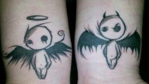 My new Tattoos by Mscheveous