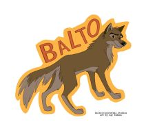 Balto Badge by KayFedewa