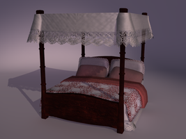 Bed by unseeliefae