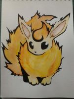 Flareon, the fire goddess by munna-chan78