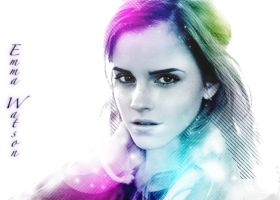 Emma Watson Collors by Ditalion