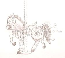 The Carousel Warhorse by TehLeetSheep
