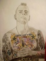 M Shadows Avenged Sevenfold by Trezeytron
