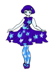 Mystery adopt: Moonlight girl by Danielle-chan