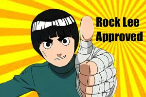 Rock Lee Approved by SkyWolf124