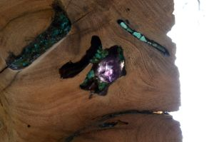 Mesquite tray -Amethyst crystal_backlit by lamorth-the-seeker