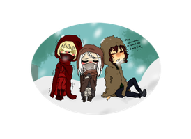 Chibis what a surprise by BestNess