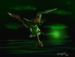 The Green Light by seagaull