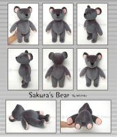 Sakura's Bear::::: by Witchiko