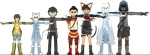 Warriors of Agrohaa - Height Chart/Ages - Redesign by Kev-Dee