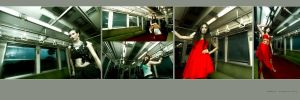 fashion on the train by mbahuyo
