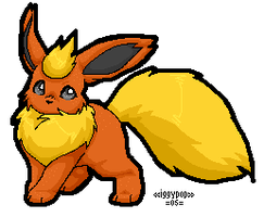 .:Flareon:. by hitoride