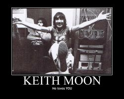 Keith Moon Loves You by songofthesea3