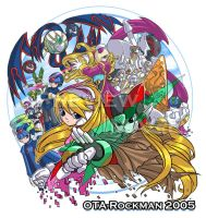 Ota-Rockman 2005 T-Shirt RMZ by purplerubyred