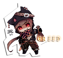 [CLOSED//adopt] 7 sins - Greed by poisonous-mush